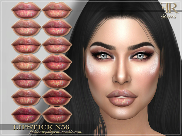 FRS Lipstick N56 by FashionRoyaltySims