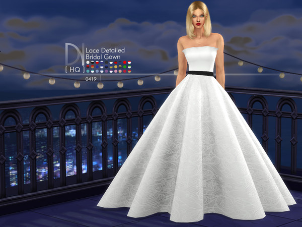Lace Detaied Bridal Gown by DarkNighTt