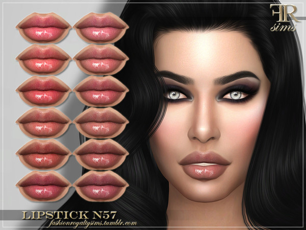 FRS Lipstick N57 by FashionRoyaltySims