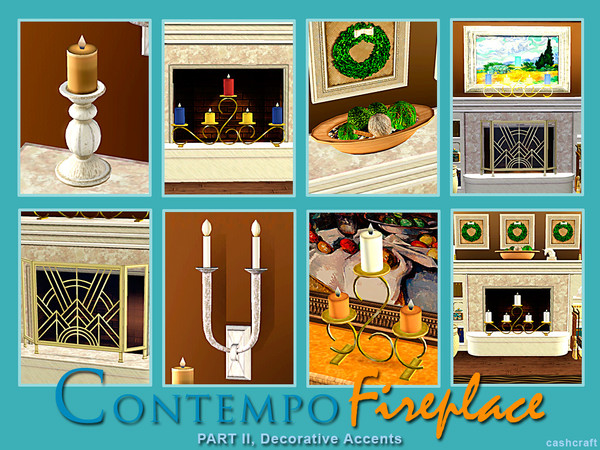 Contempo Fireplace Part II by cashcraft