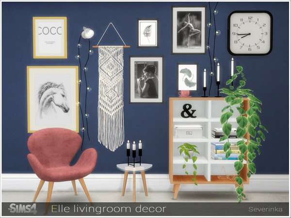 Elle livingroom decor by Severinka