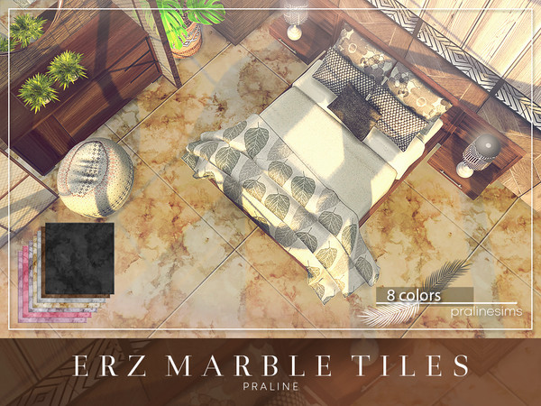 ERZ Marble Tiles by Pralinesims