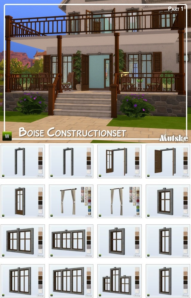 Boise Constructionset Part 1 by mutske