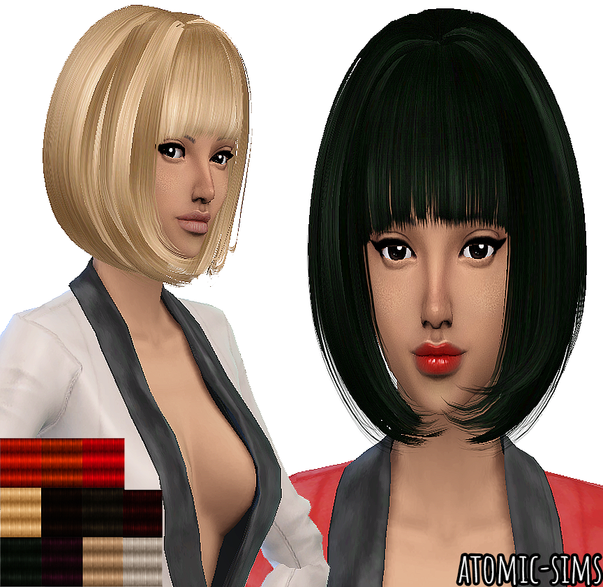 Peggyzone hair 15 conversion by Atomic-sims