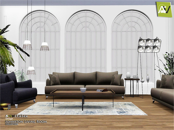 Johnston Living Room by ArtVitalex