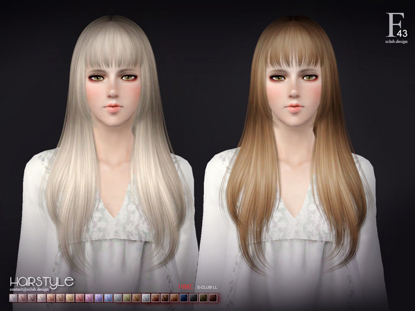 ts3 hair n43 by S-Club