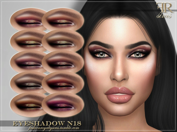 FRS Eyeshadow N18 by FashionRoyaltySims