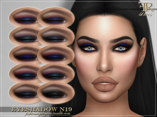 FRS Eyeshadow N19 by FashionRoyaltySims