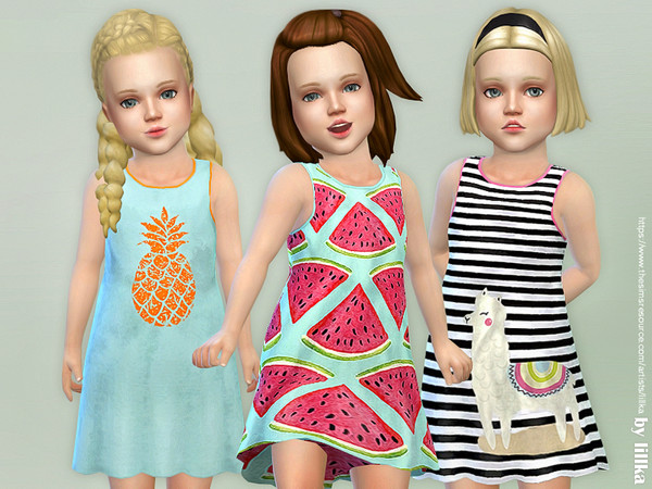 Toddler Dresses Collection P89 by lillka