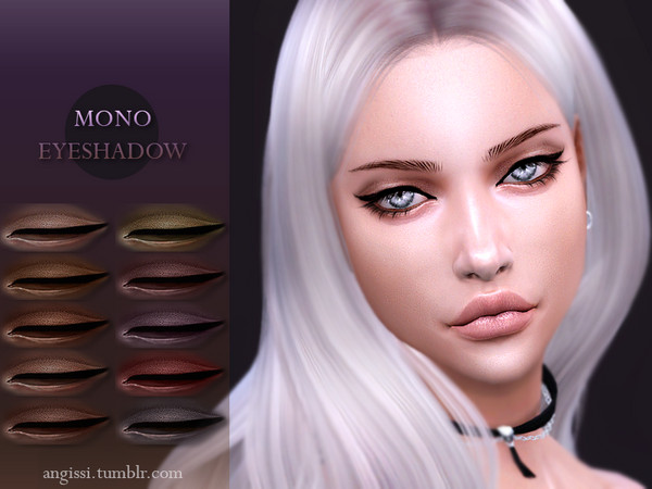 MONO EYESHADOW by ANGISSI