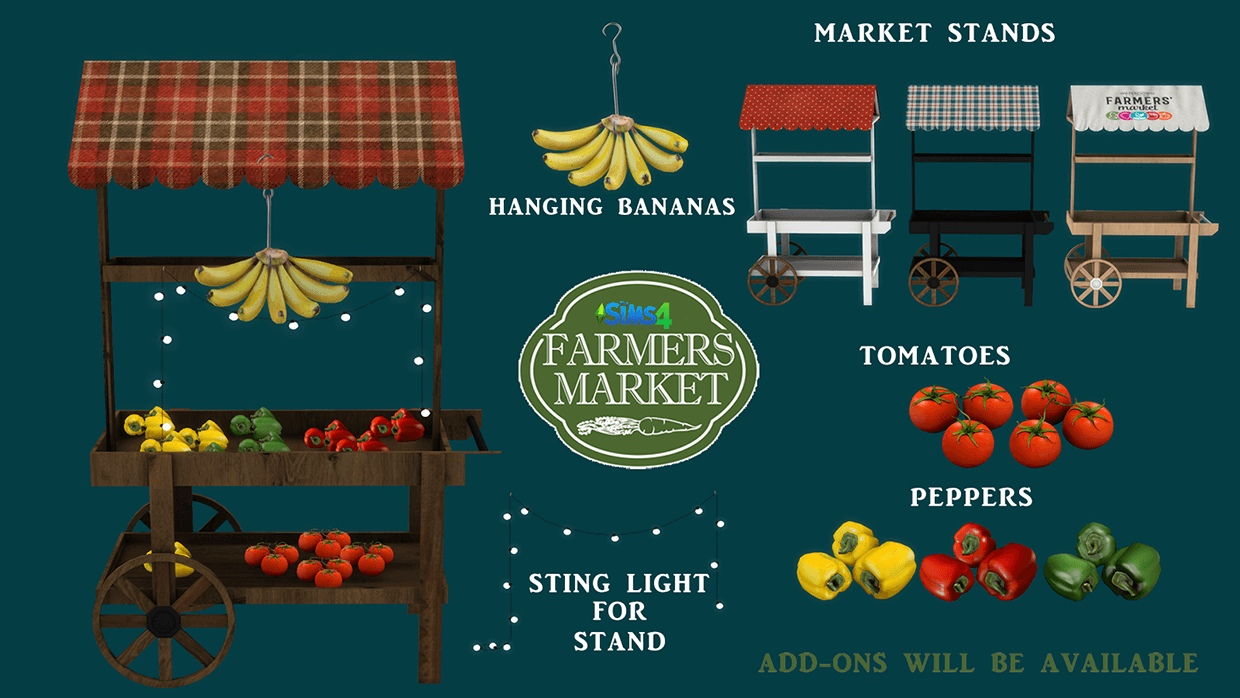 Farmers market by Leo-Sims