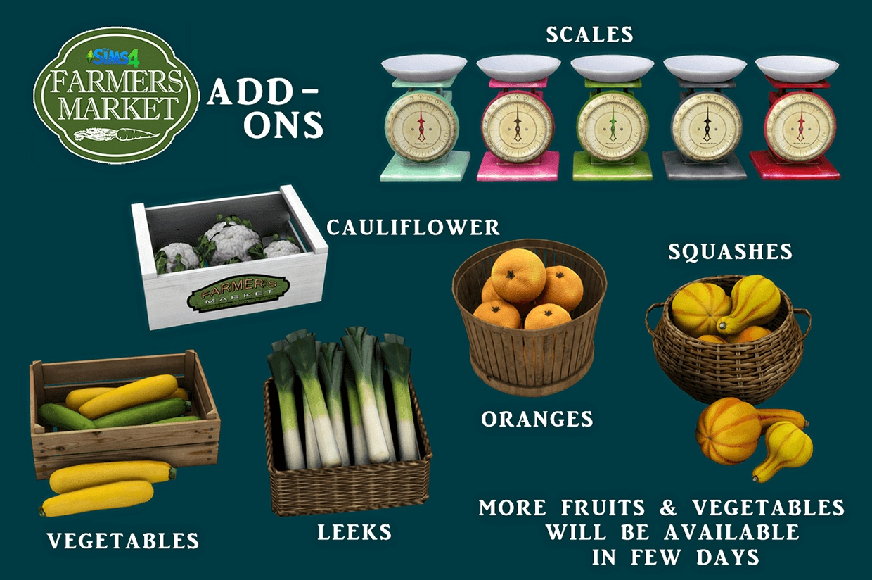 Farmers market add ons by Leo-Sims