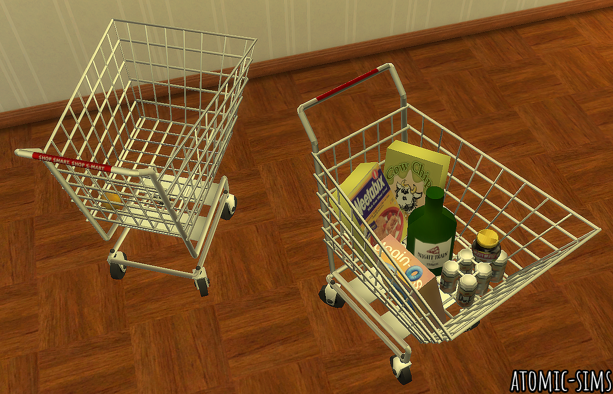 Spiffysims Yggdrasil Shopping Trolley conversion by Atomic-sims