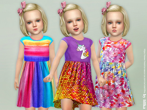 Toddler Dresses Collection P91 by lillka