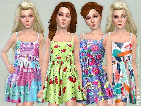 Girls Dresses Collection P125 by lillka