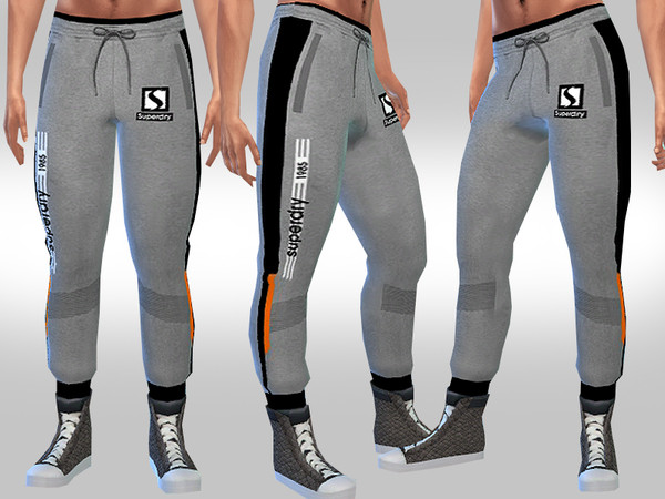 Men Athletic Track Pants by Saliwa