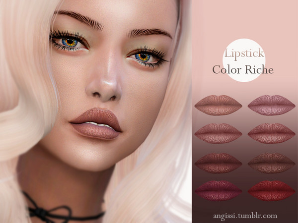 lipstick-Color Riche by ANGISSI