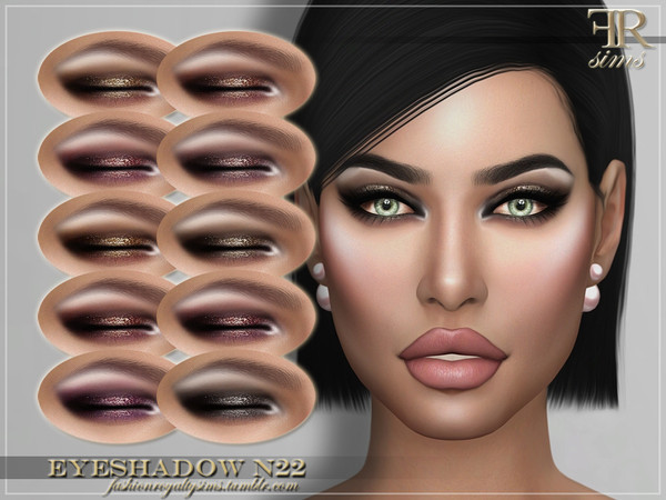 FRS Eyeshadow N22 by FashionRoyaltySims