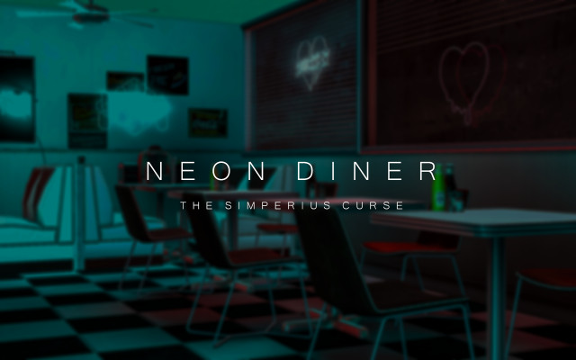 Neon Diner by thesimperiuscurse