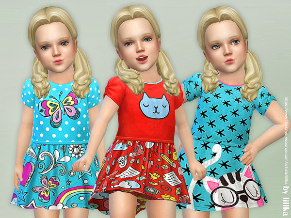 Toddler Dresses Collection P92 by lillka