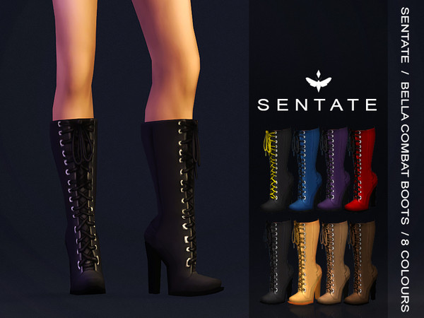 Bella Combat Boots by Sentate
