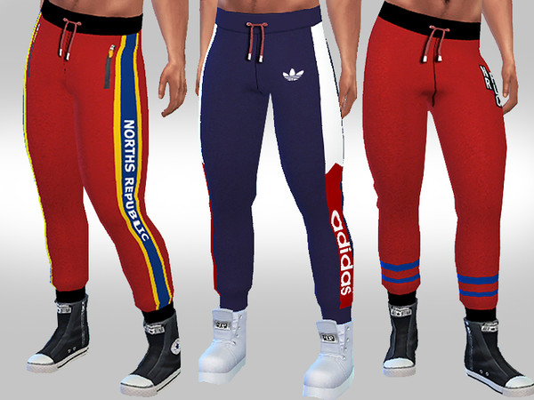 Athletic Joggers For Male Sims by Saliwa