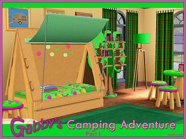 Gabby's Camping Adventure by cashcraft