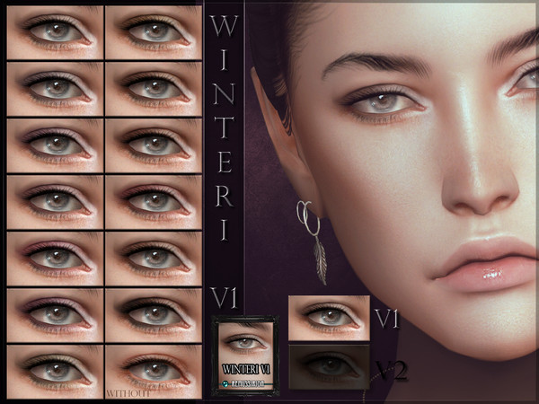 Winteri Eyeshadow V1 by RemusSirion