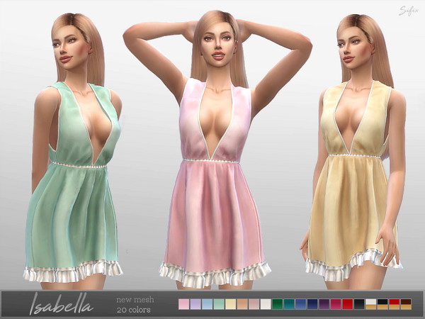 Isabella Dress by Sifix