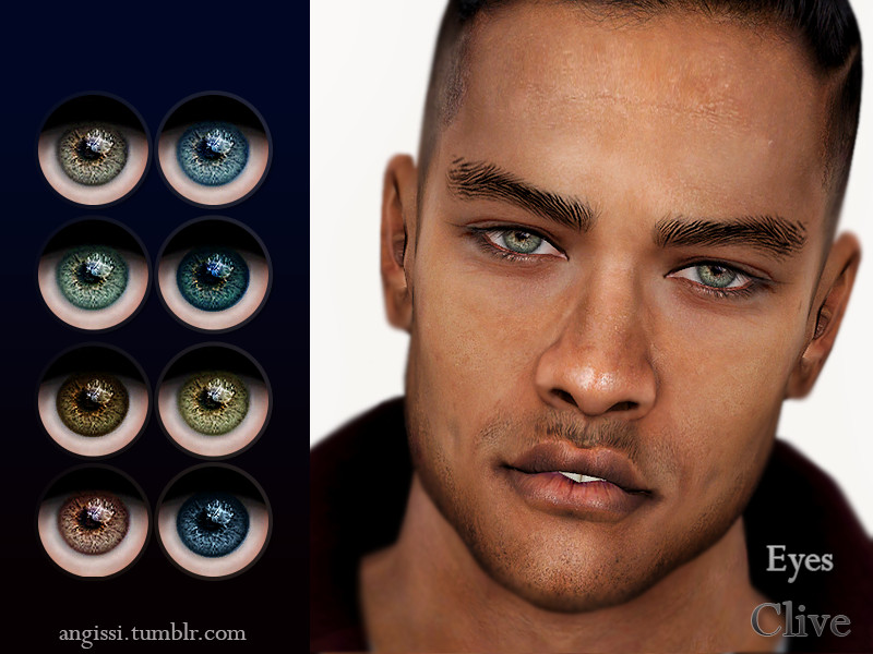 Eyes-Clive by ANGISSI