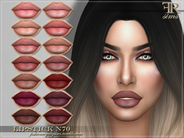 FRS Lipstick N70 by FashionRoyaltySims