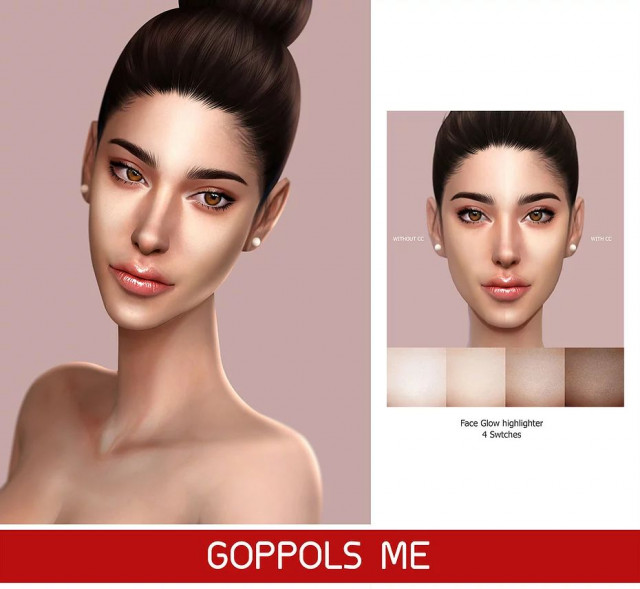 GPME Face Glow highlighter by GoppolsMe
