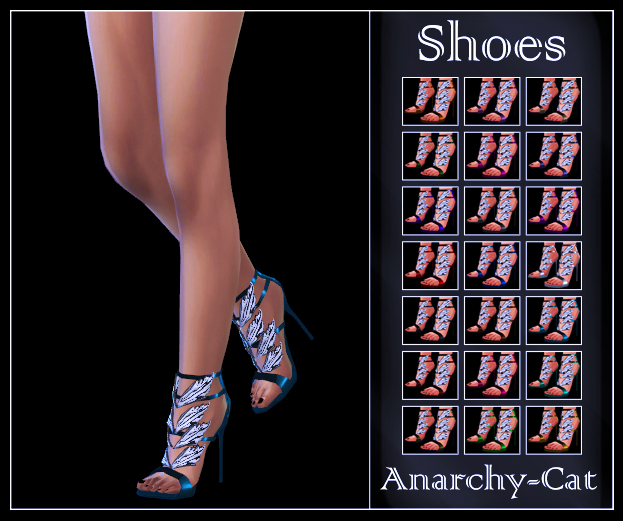 Madlen Bendetti Shoes by Anarchy-Cat