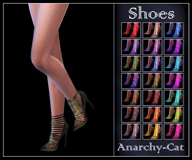 Madlen Teate Shoes by Anarchy-Cat