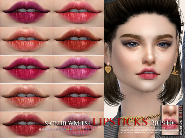 S-Club WM ts4 Lipstick 201910