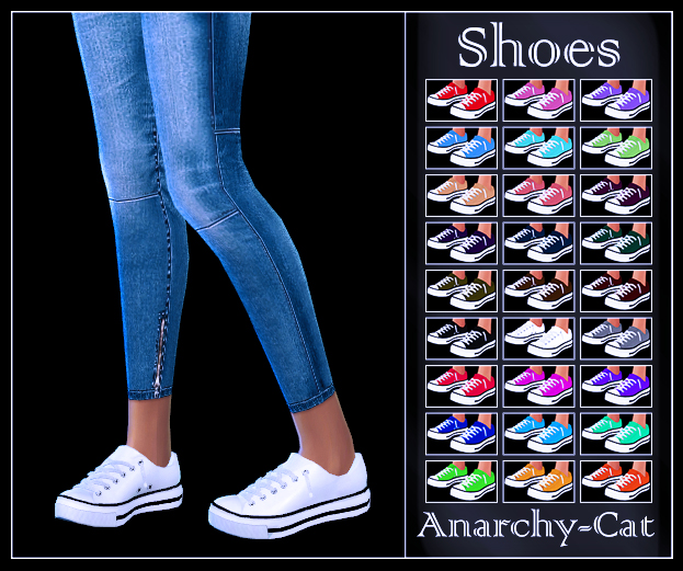 Semller Converse Low Top (Female) by Anarchy-Cat