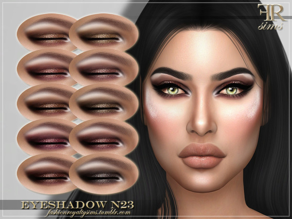 FRS Eyeshadow N23 by FashionRoyaltySims
