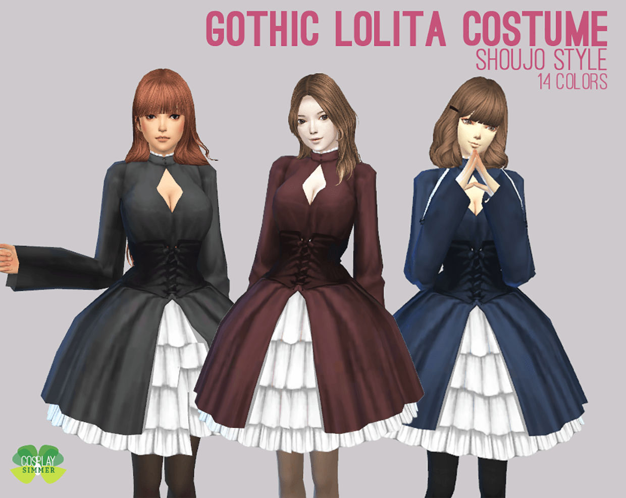 Gothic Lolita Costume by Cosplay Simmer