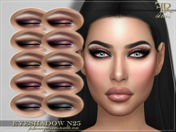 FRS Eyeshadow N25 by FashionRoyaltySims