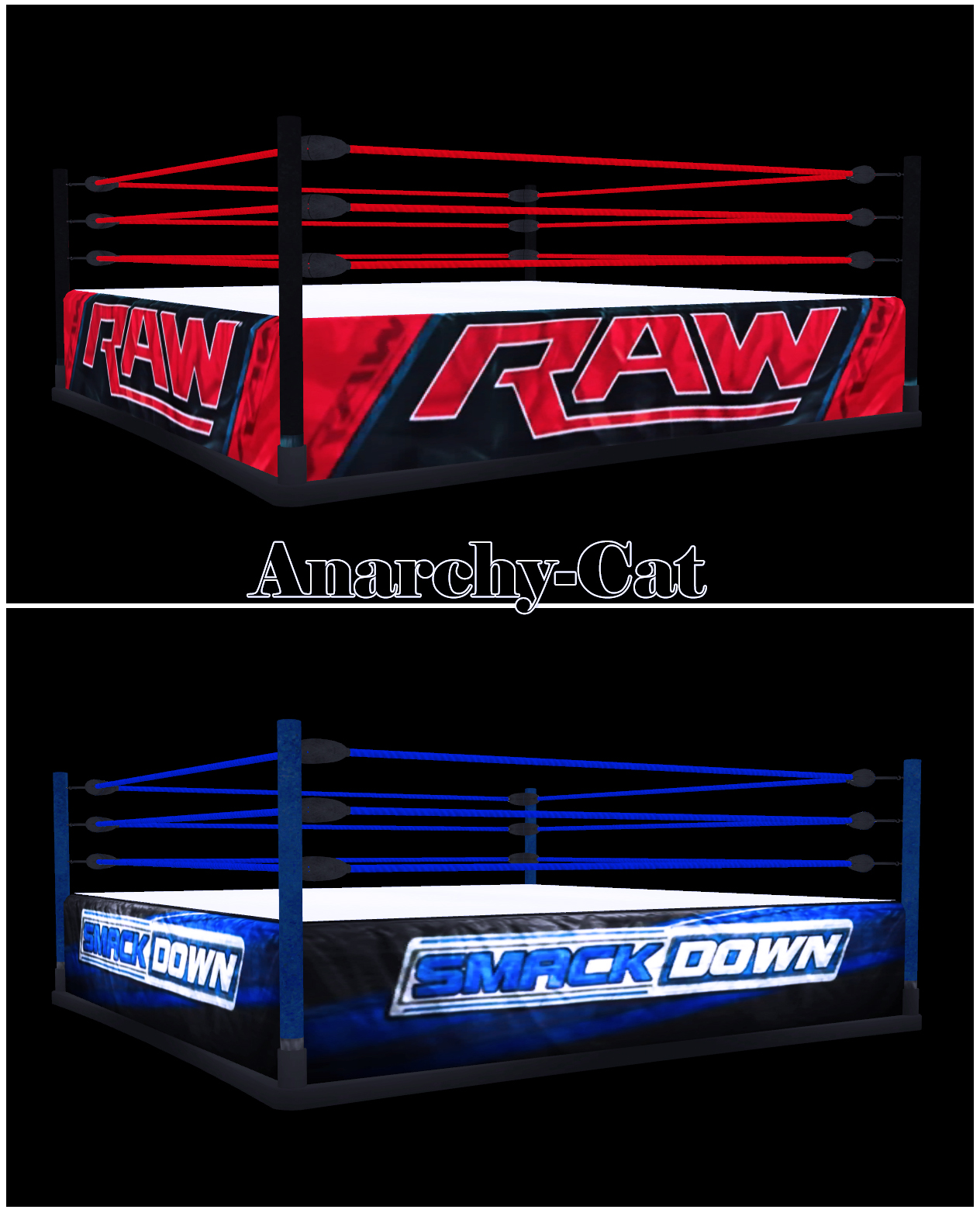 WWE Ring by Anarchy-Cat