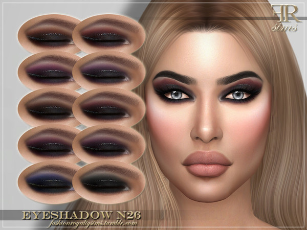 FRS Eyeshadow N26 by FashionRoyaltySims