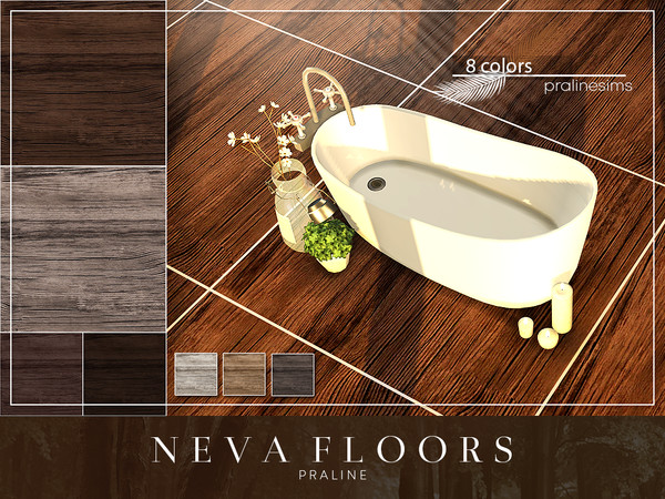 NEVA Floors by Pralinesims