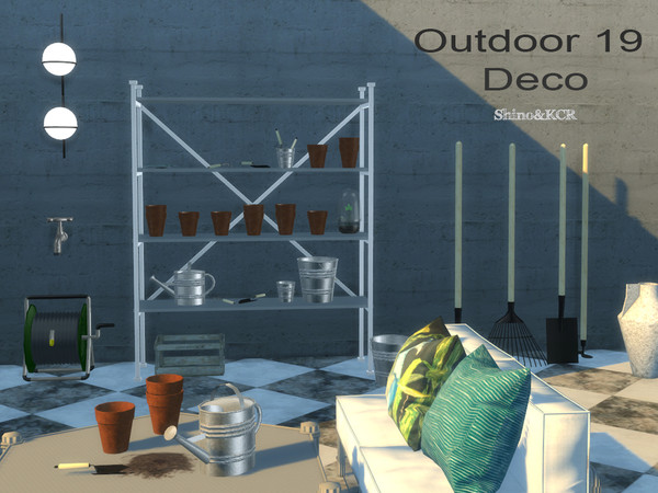 Outdoor 19 Deco Set by ShinoKCR