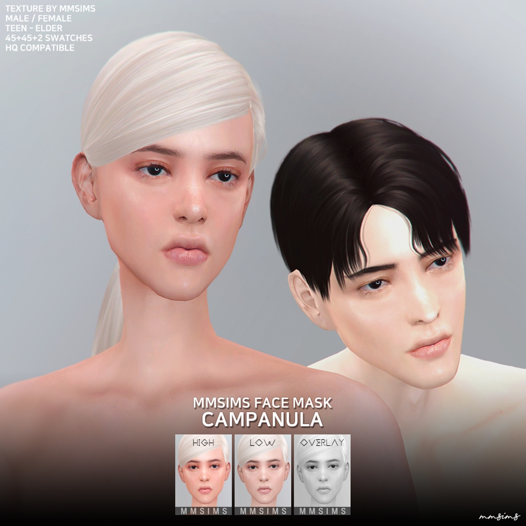Face Mask Campanula Set by MMSIMS