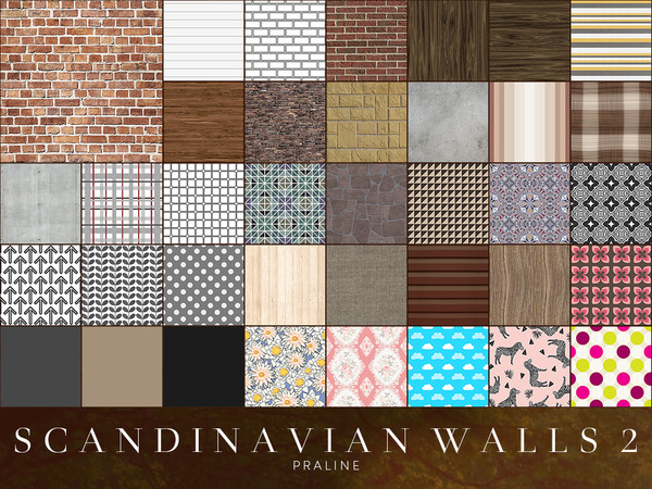 Scandinavian Walls 2 by Pralinesims