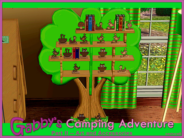 Gabbys Camping Adventure Part 2 by cashcraft