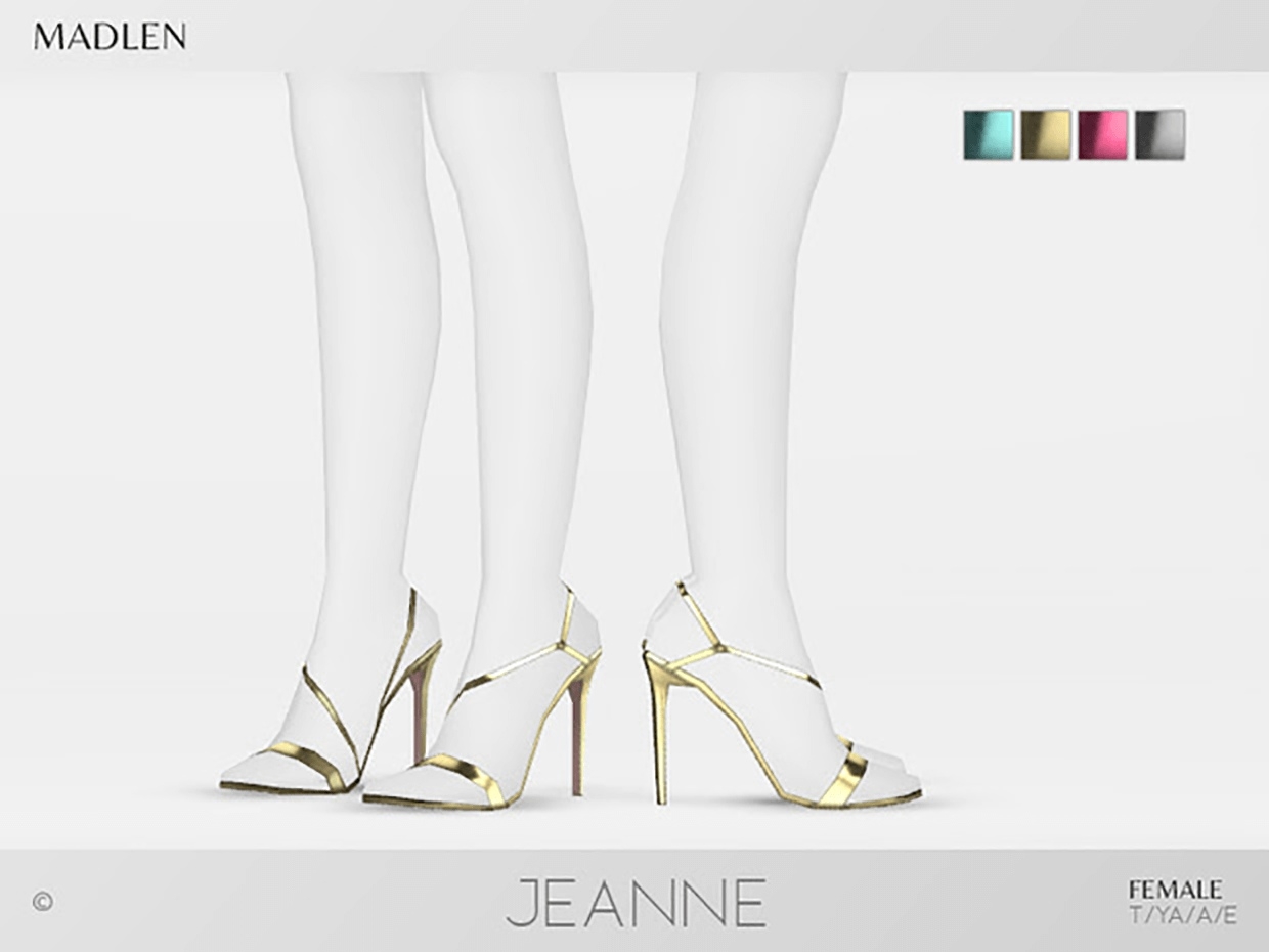 Madlen Jeanne Shoes by MJ95
