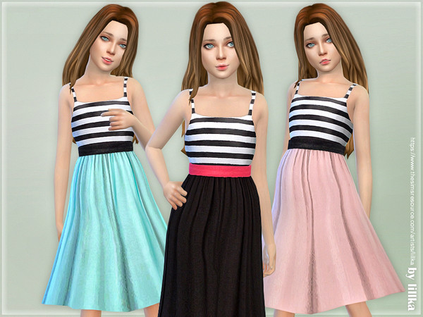 Girls Dresses Collection P126 by lillka