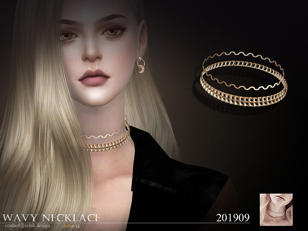 S-Club ts4 LL Necklace 201909