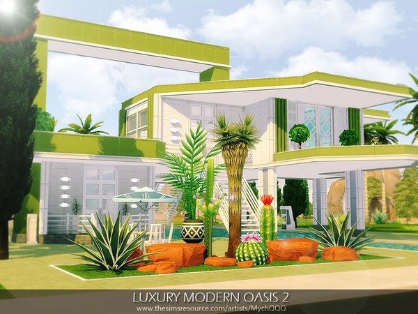 Luxury Modern Oasis 2 by MychQQQ